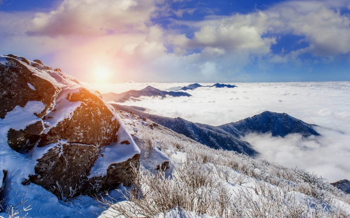 Seoraksan in winter