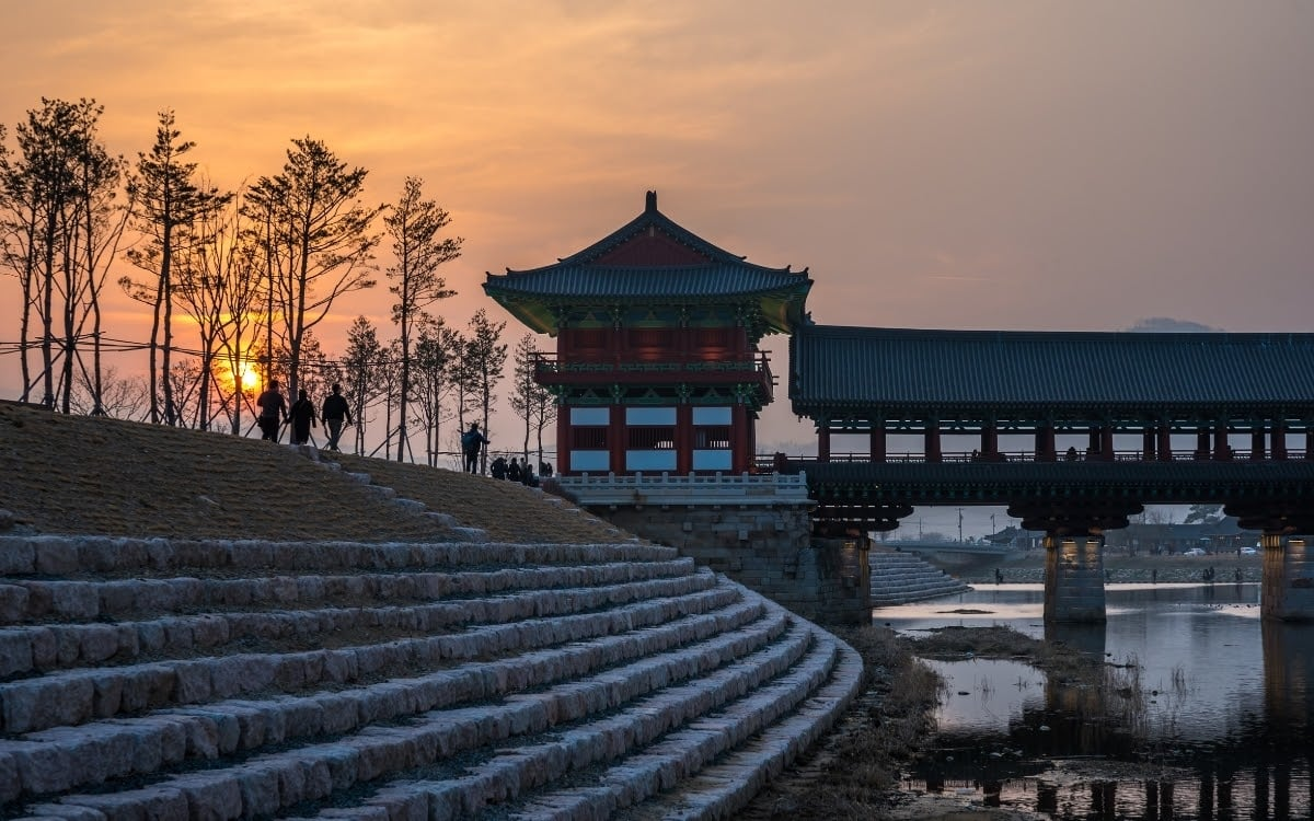 """Gyeongju, referred to as """"the museum without walls"""" in winter"""