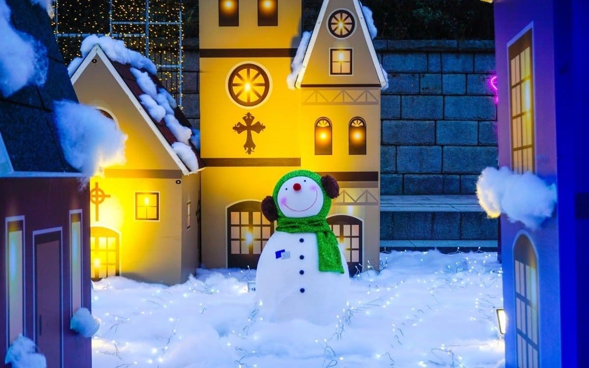 Christmas festivals in Korea