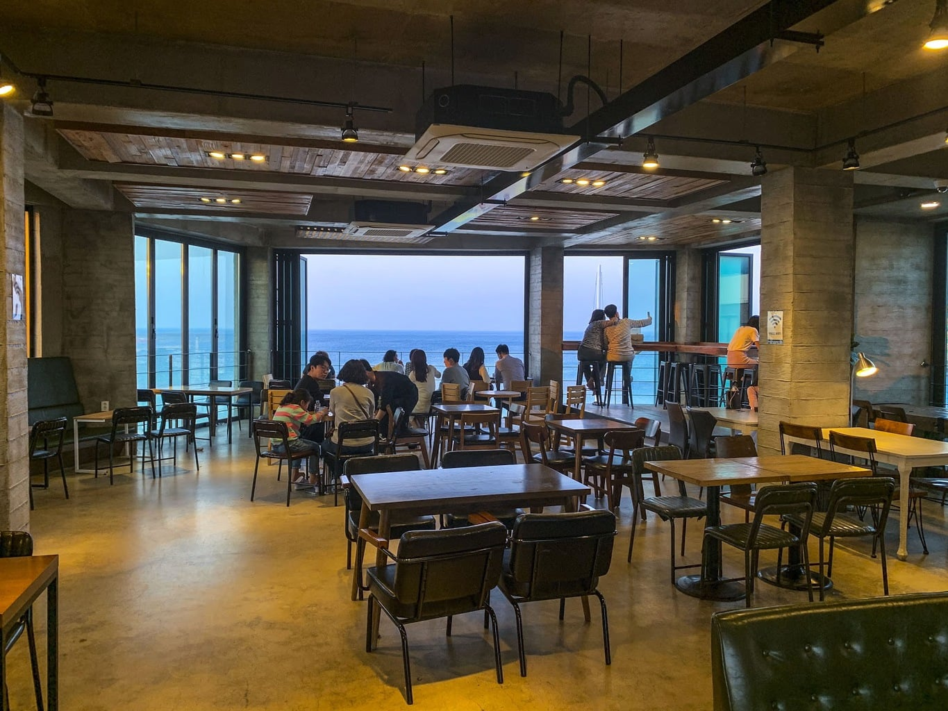 Coffee shops with ocean views, one of my personal favorite South Korean festivals