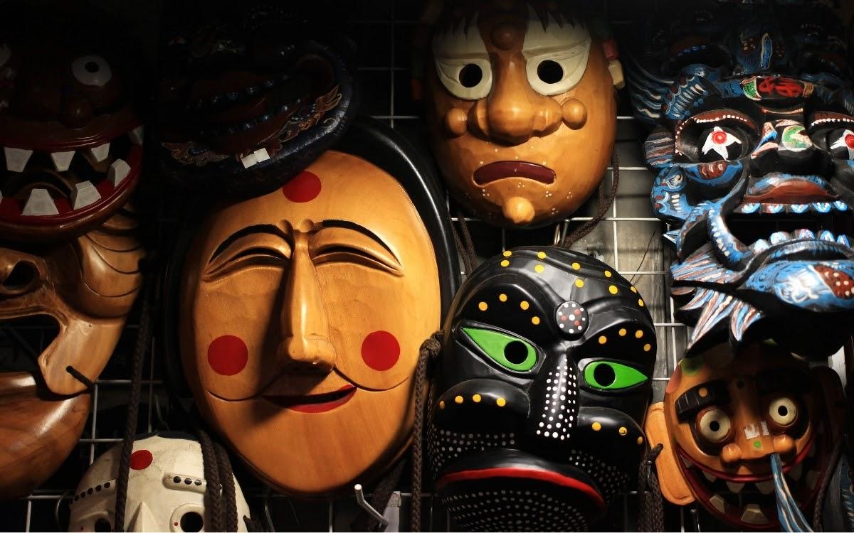 Unique masks in Korea