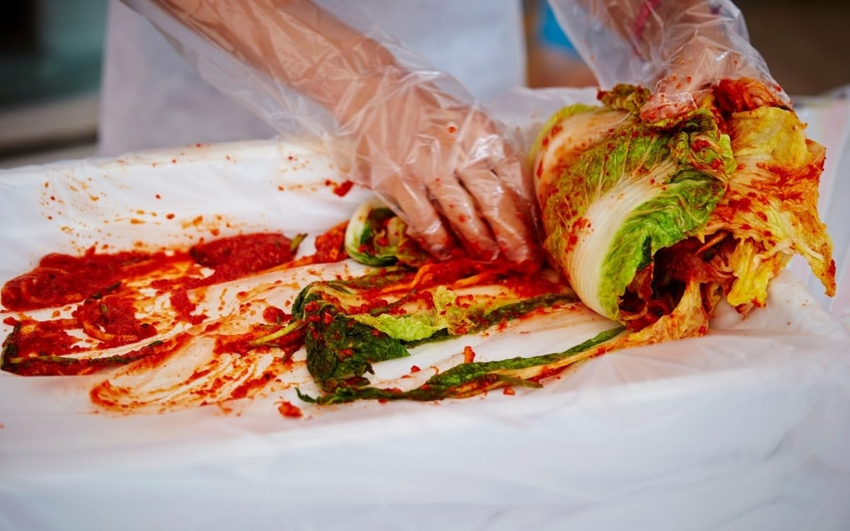 Kimjang, the act of kimchi making