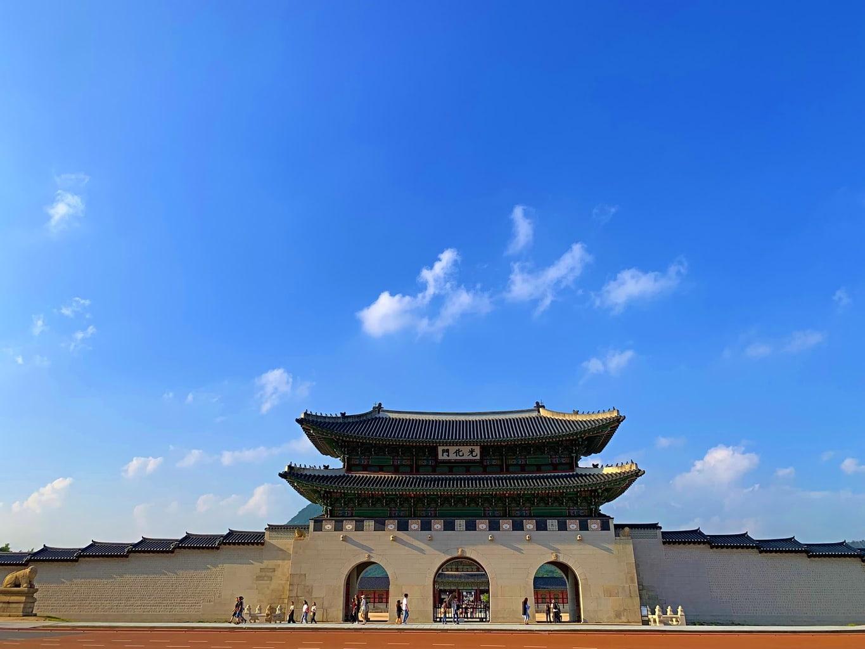 Gyeongbokgung's main entrance