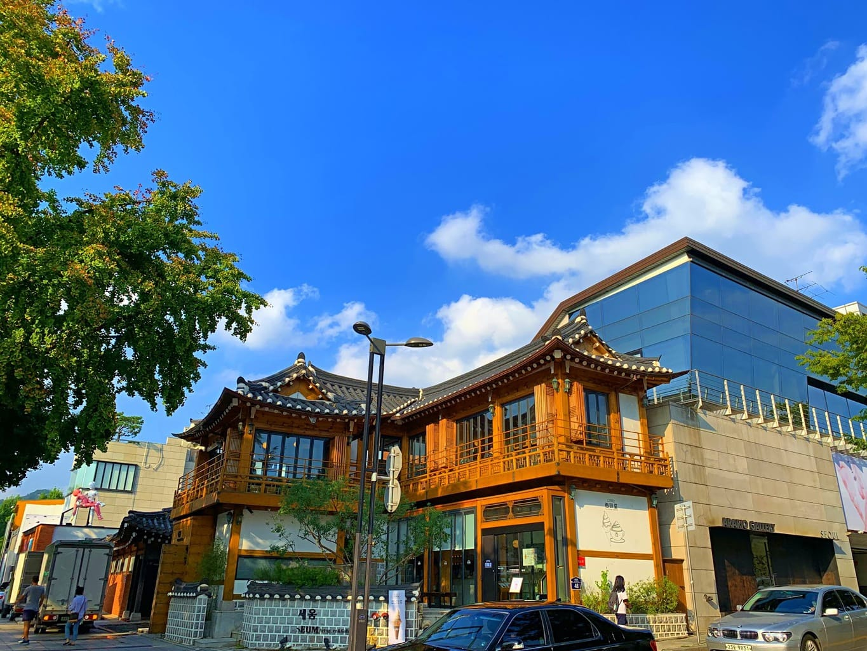 Beautiful Hanok cafes in Samcheongdong