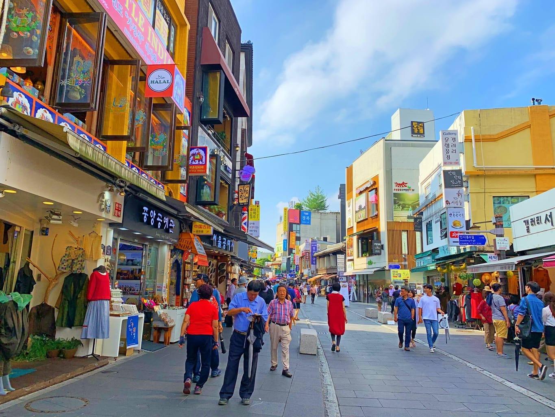 Insadong Shopping Street