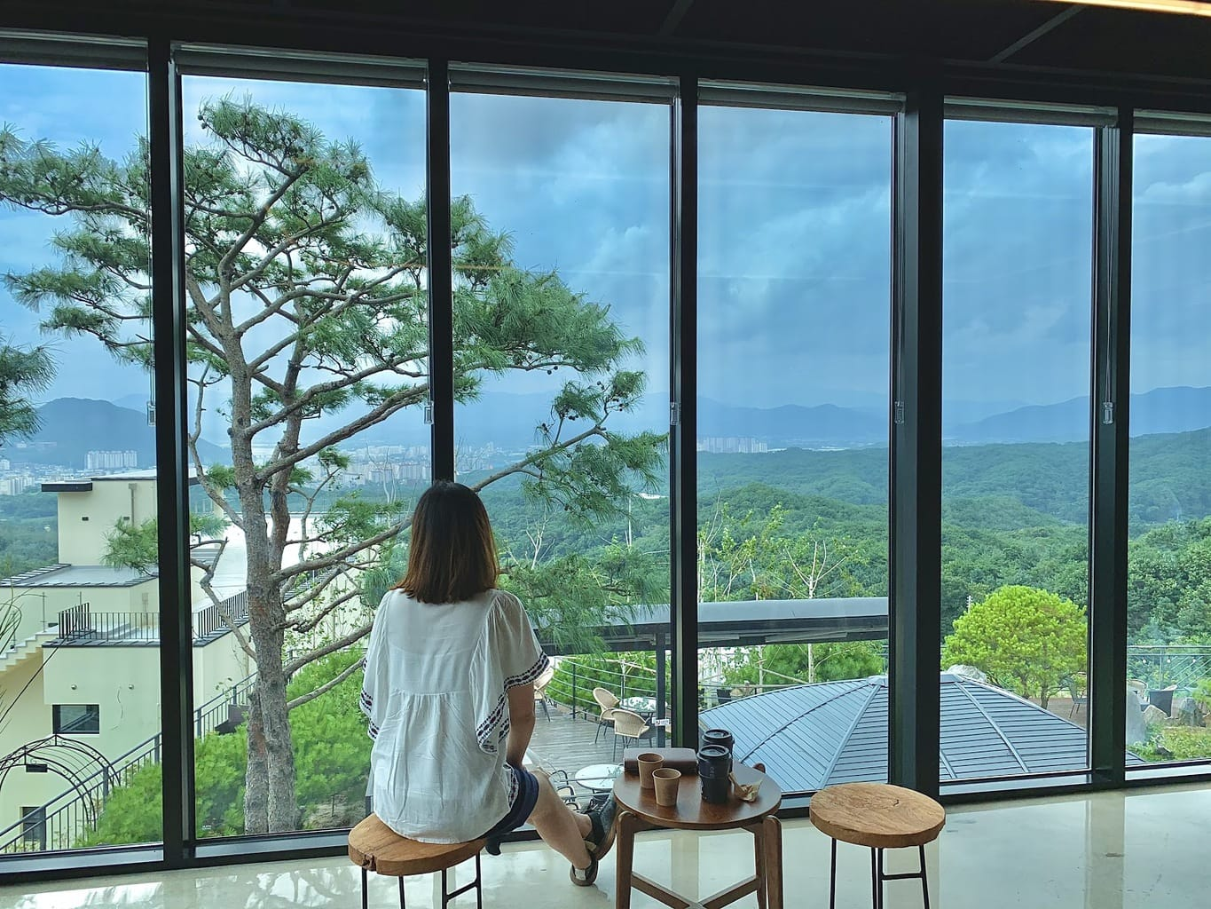View from Cupola cafe in Chuncheon