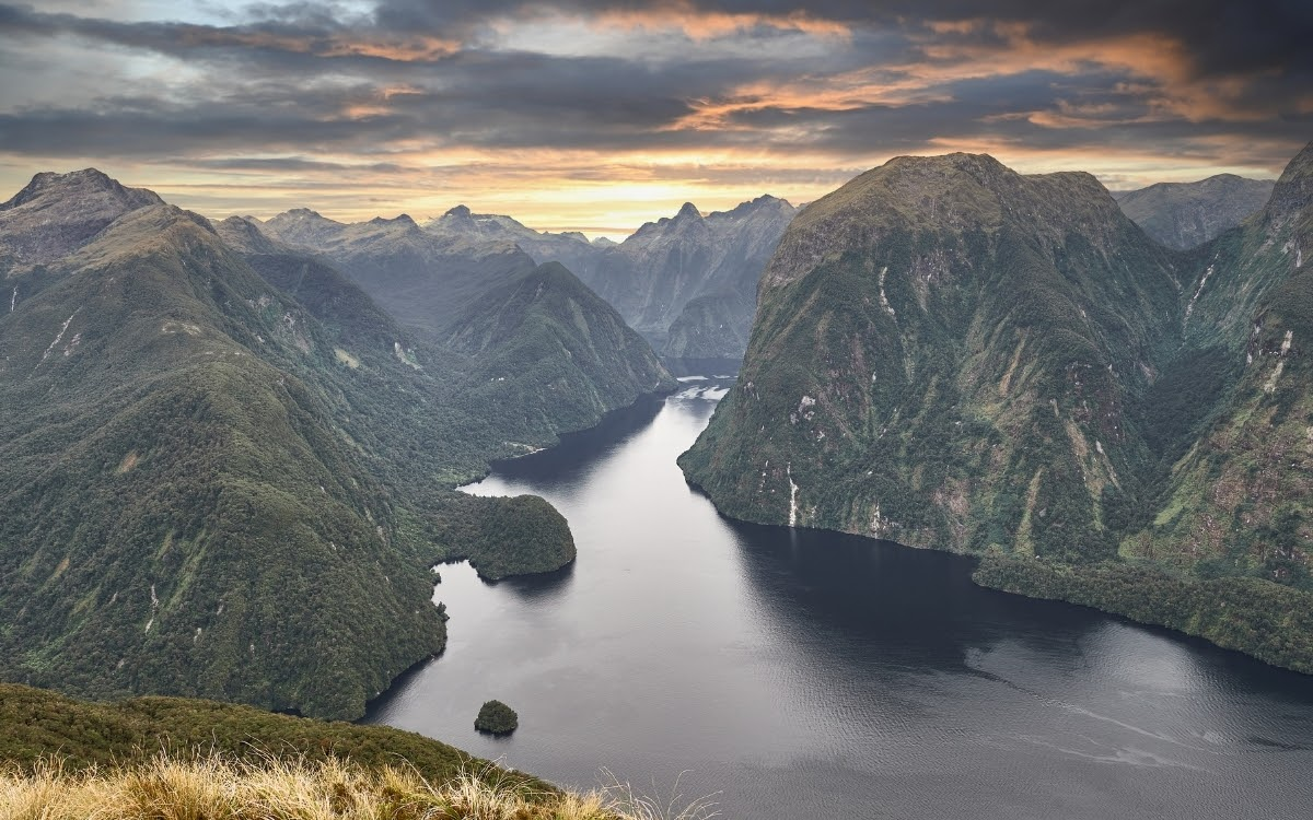 Fjordland in New Zealand