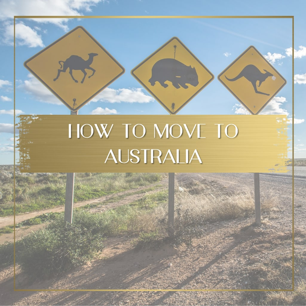 How to move to Australia feature