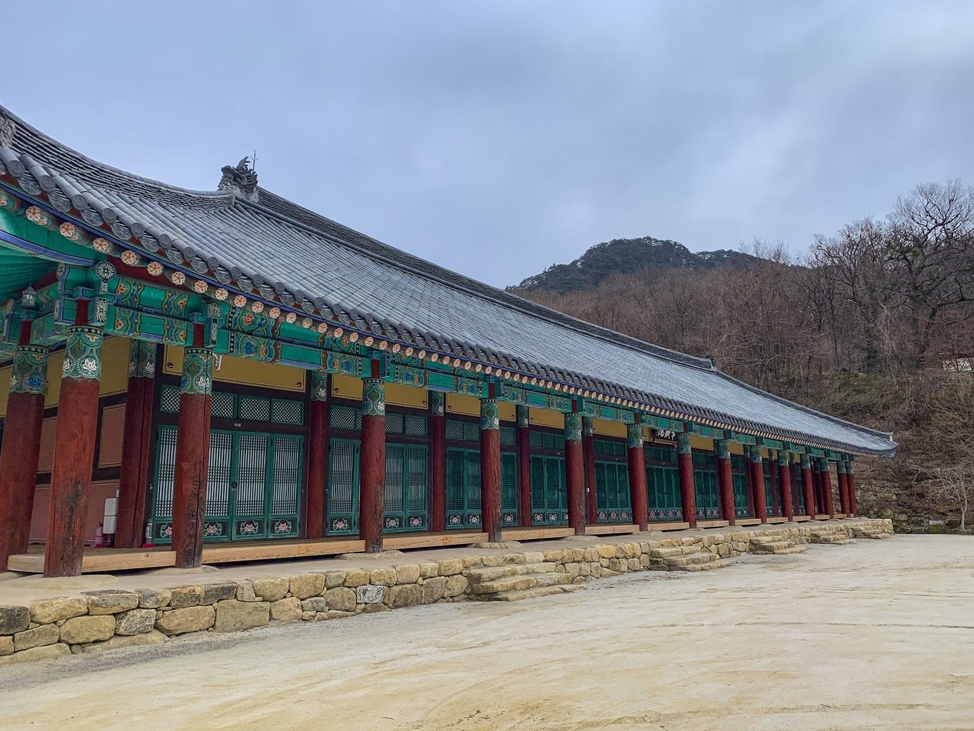Rooms at the Templestay in Haeinsa