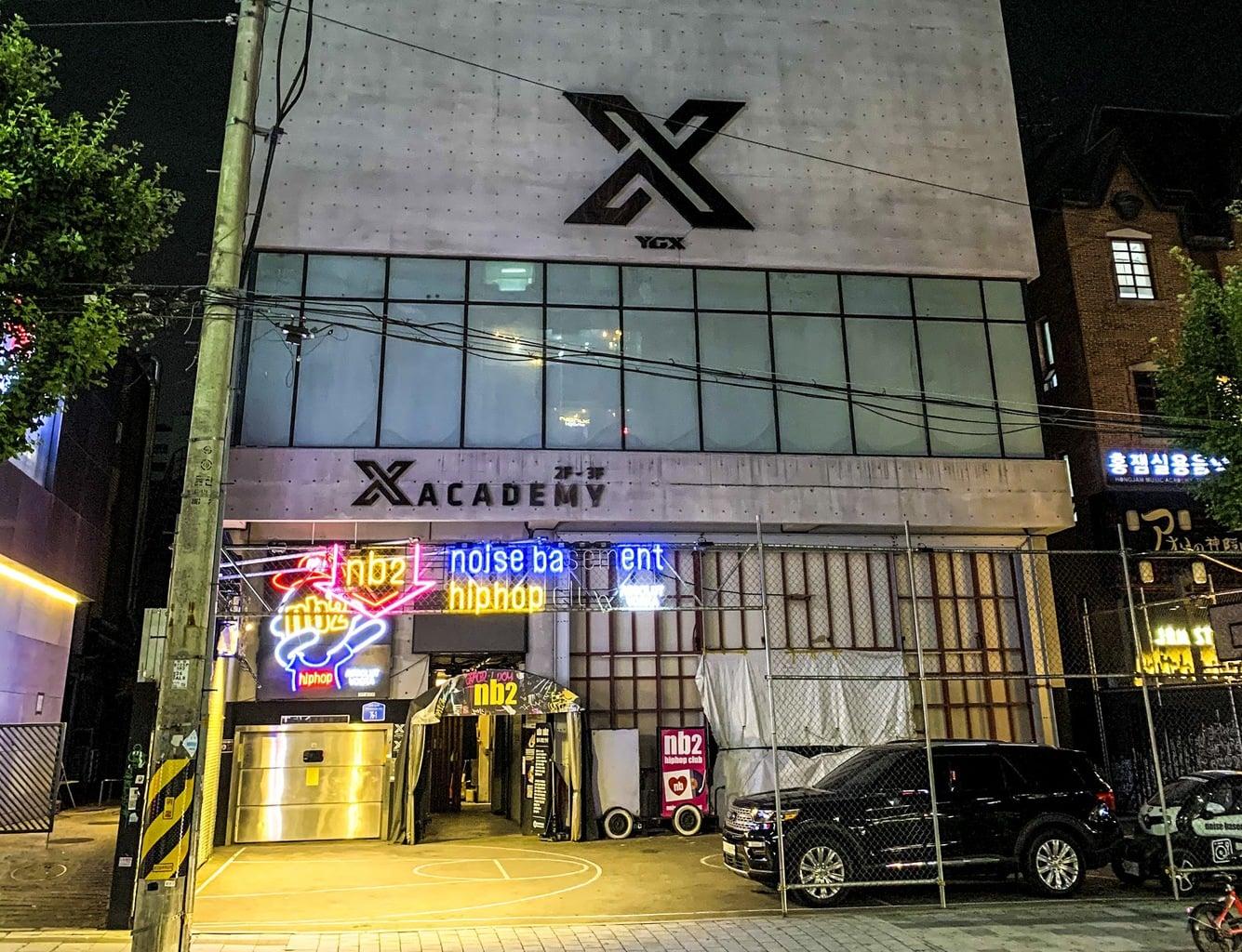 Clubbing in Hongdae