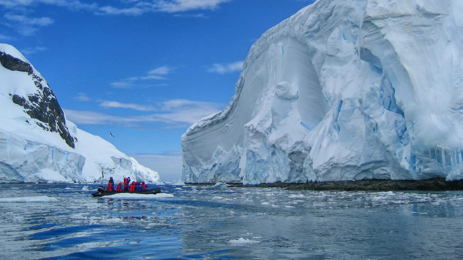 Bring the right clothes to Antarctica