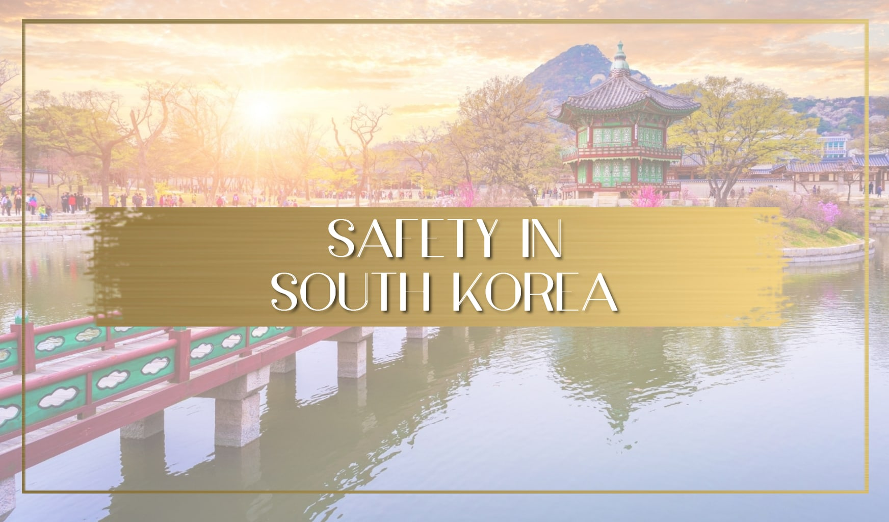 Safety in South Korea main