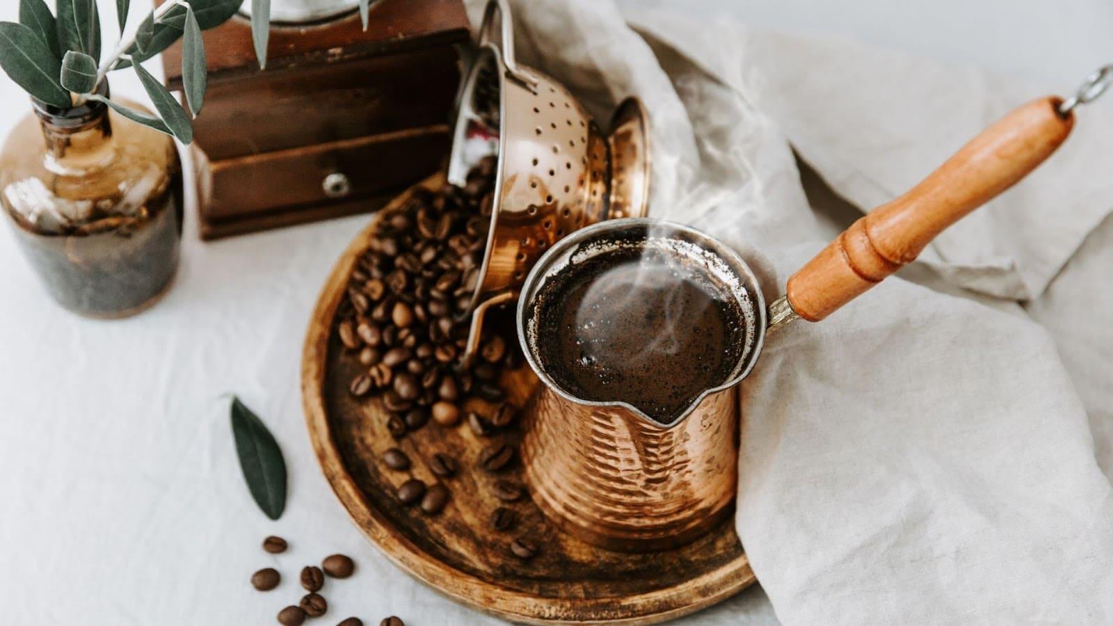 Highly caffeinated Türk Kahvesi from Turkey