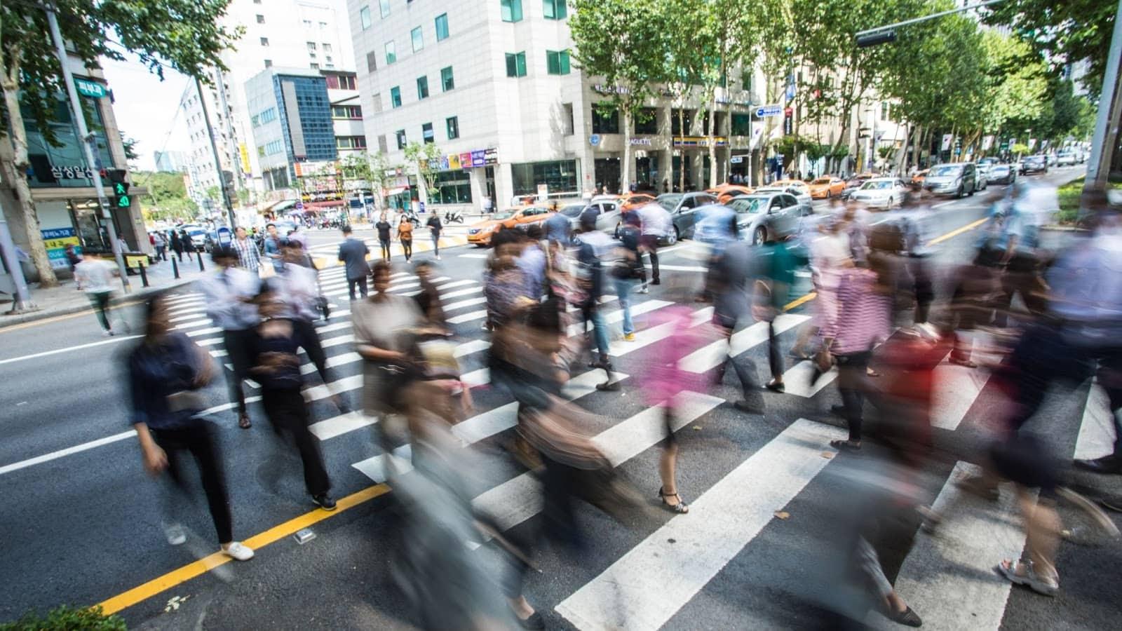 Pedestrian safety in South Korea