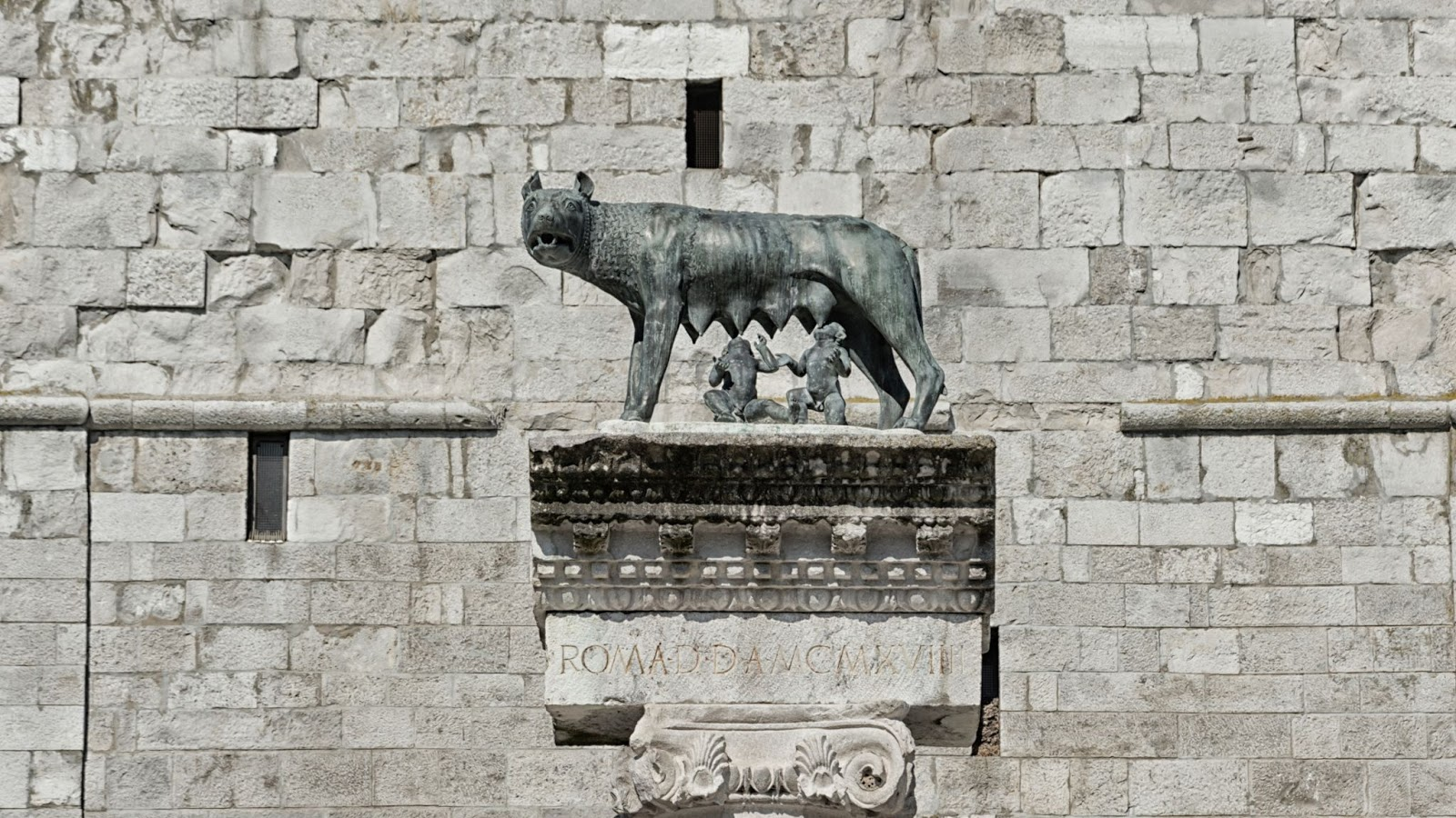 One of the Capitoline Wolf statues