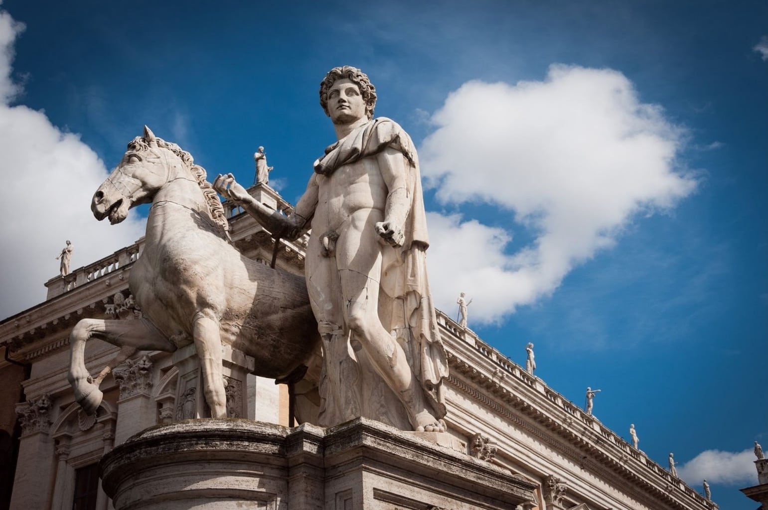 Statue of Romulus on Capitoline Hill