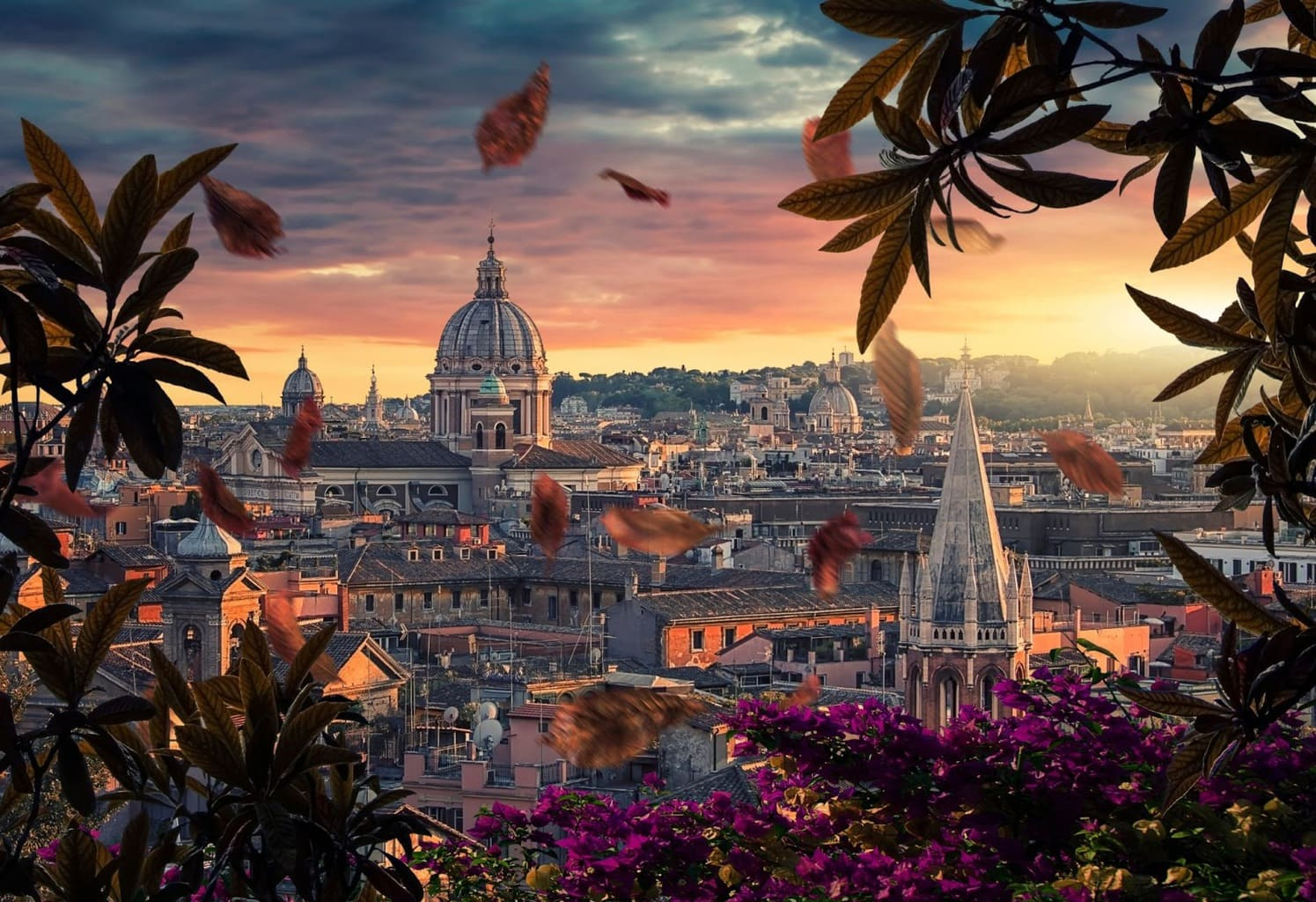 Rome, the capital of Italy