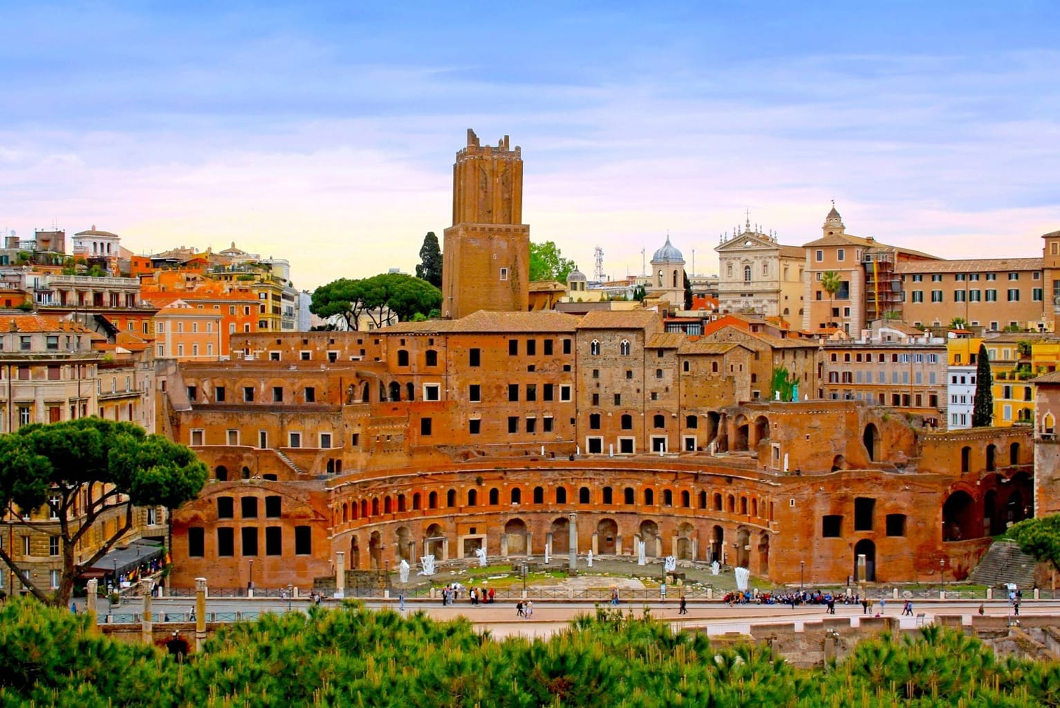 Trajan's Market, the world's first shopping mall
