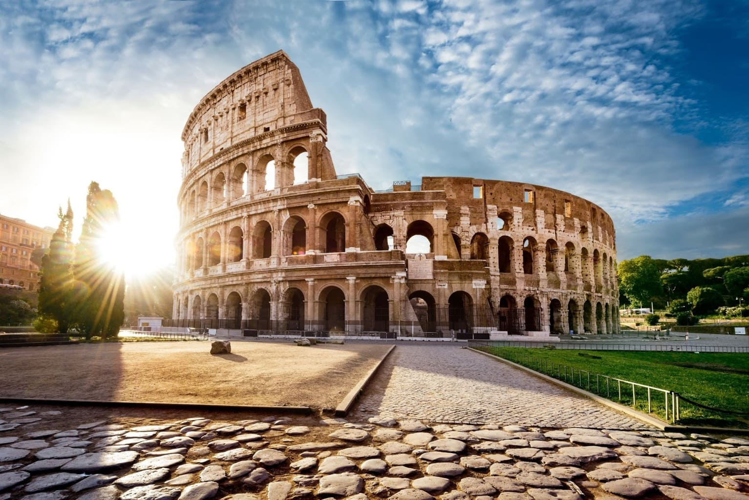 The glorious Colosseum