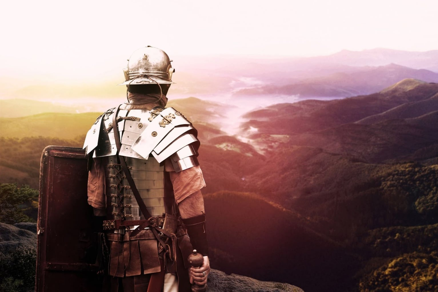 The mighty Roman Army