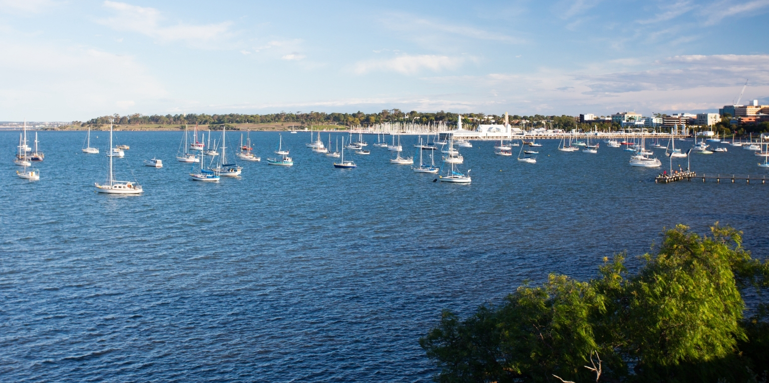 Yachts in Geelong