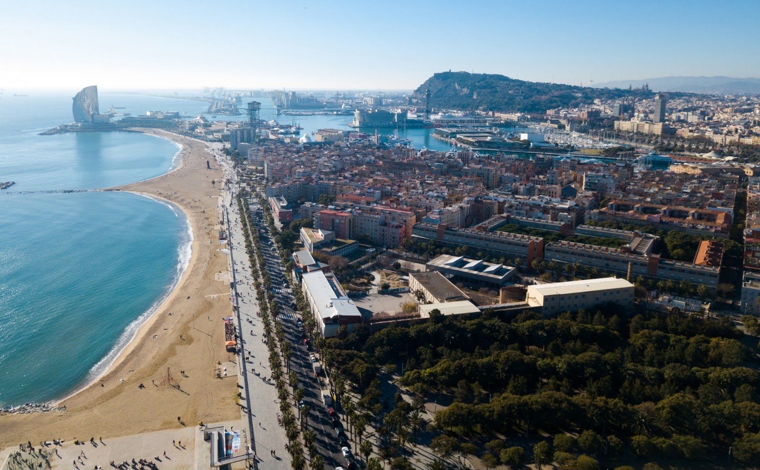 Barceloneta wasn't always there