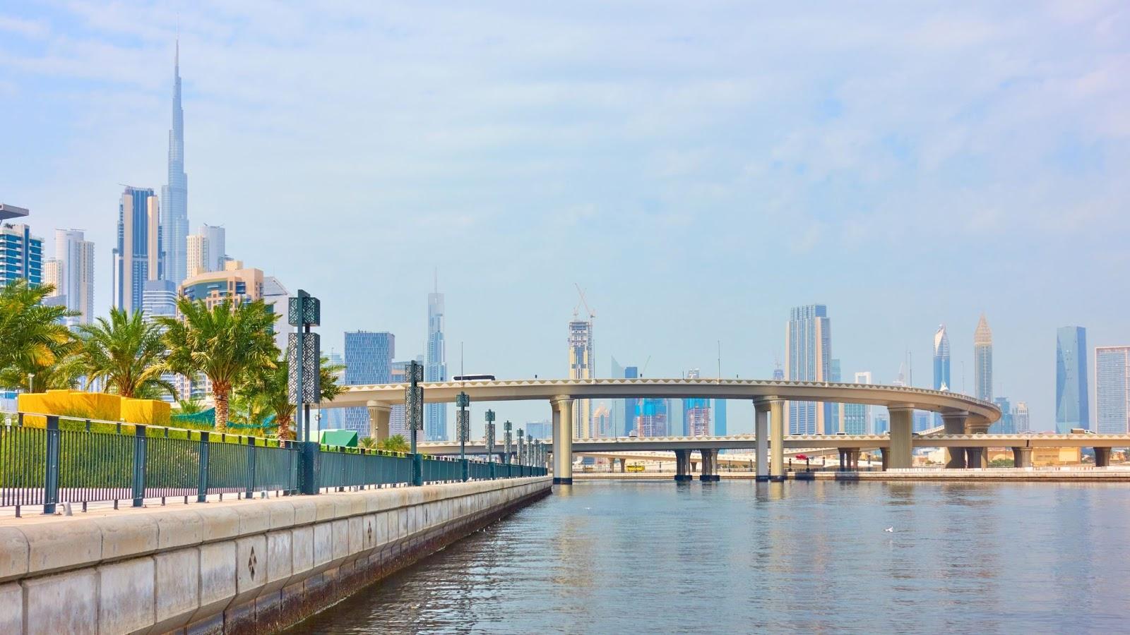 Dubai Design District waterfront