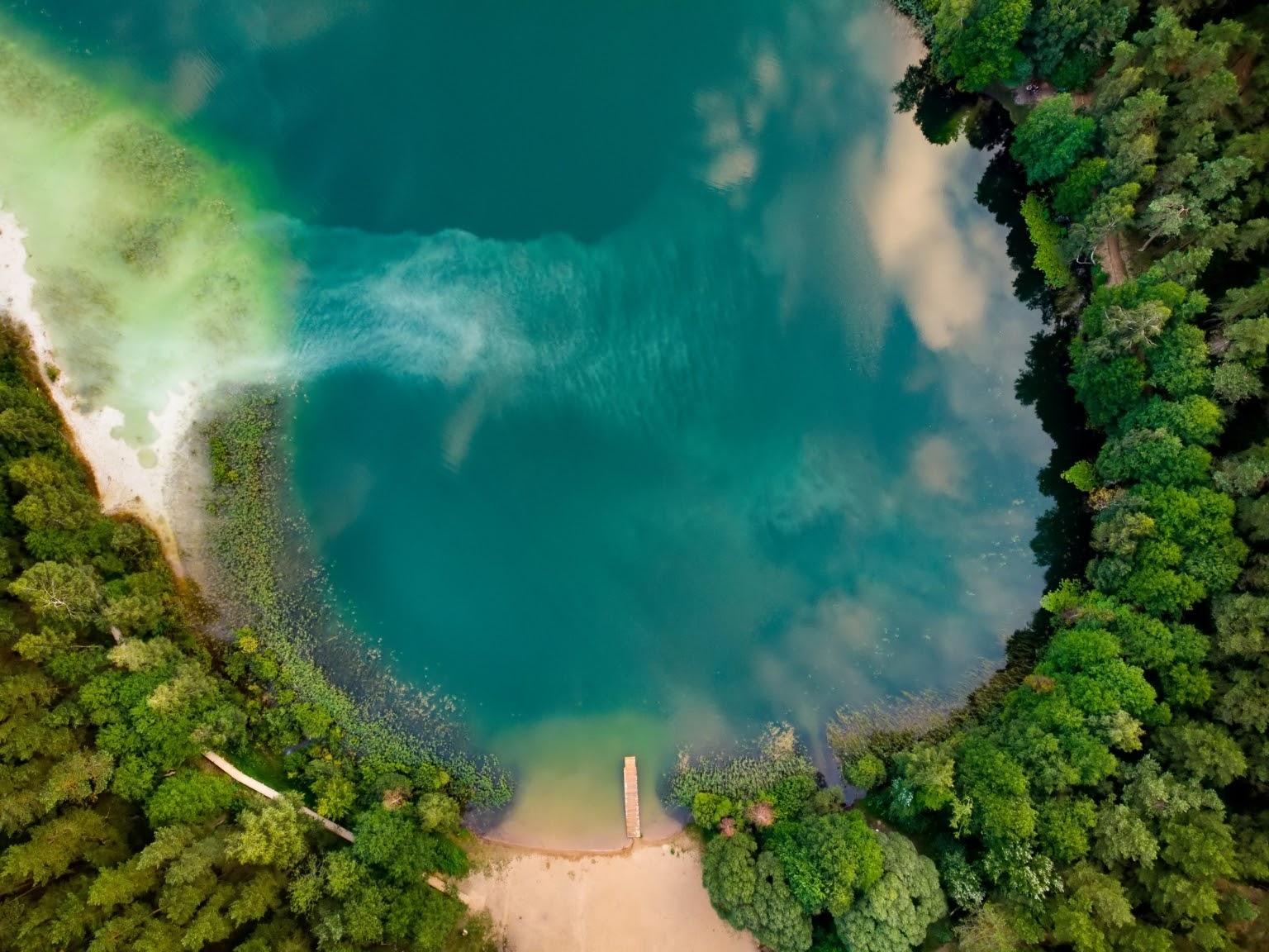 Beautiful views of Lake Gela