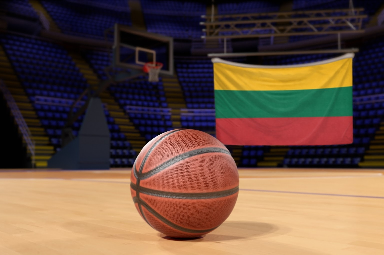Basketball is massive in Lithuania